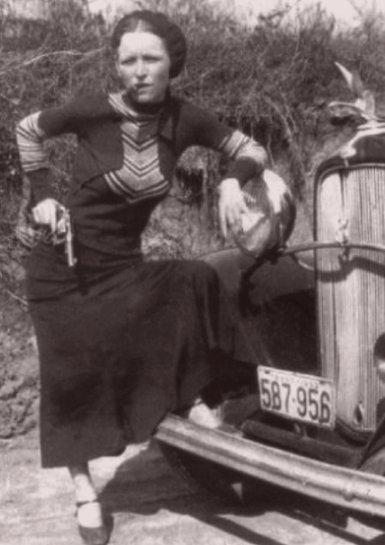 Bonnie Parker, Clyde Barrow killed by lawmen in ambush - UPI