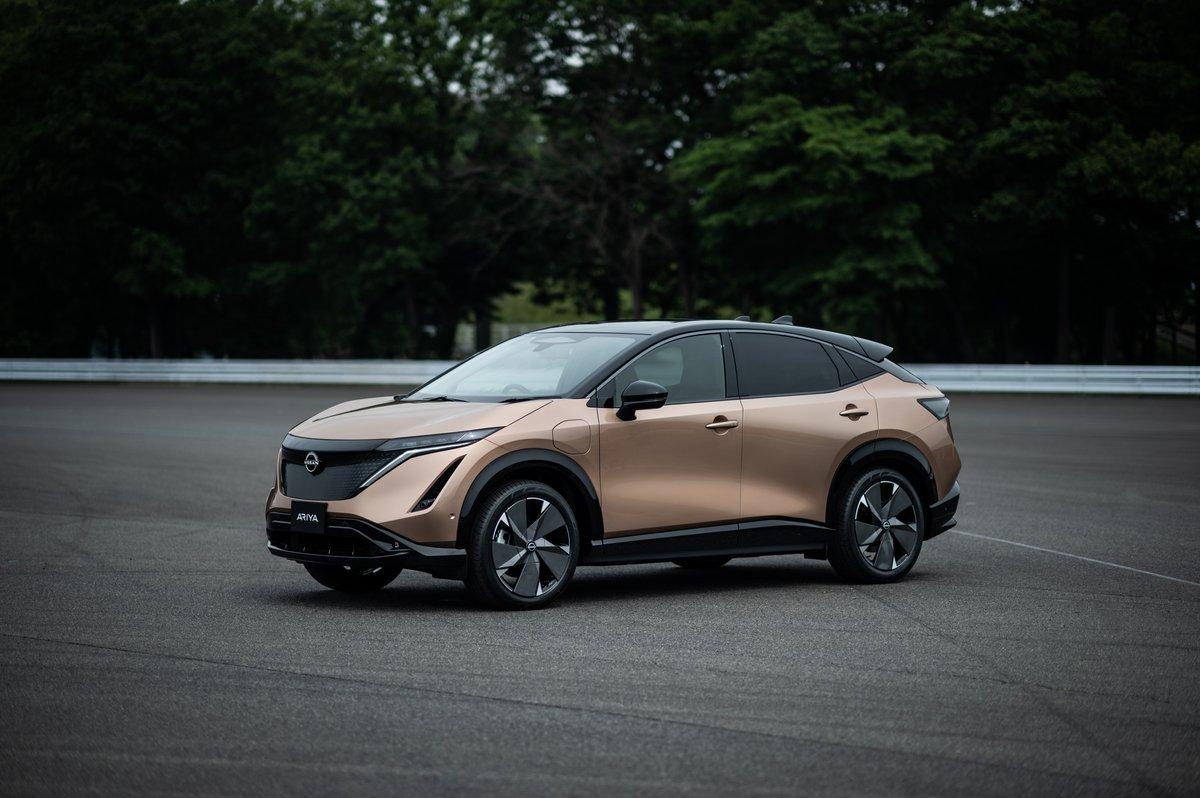 Nissan unveils Ariya, its first all-electric SUV