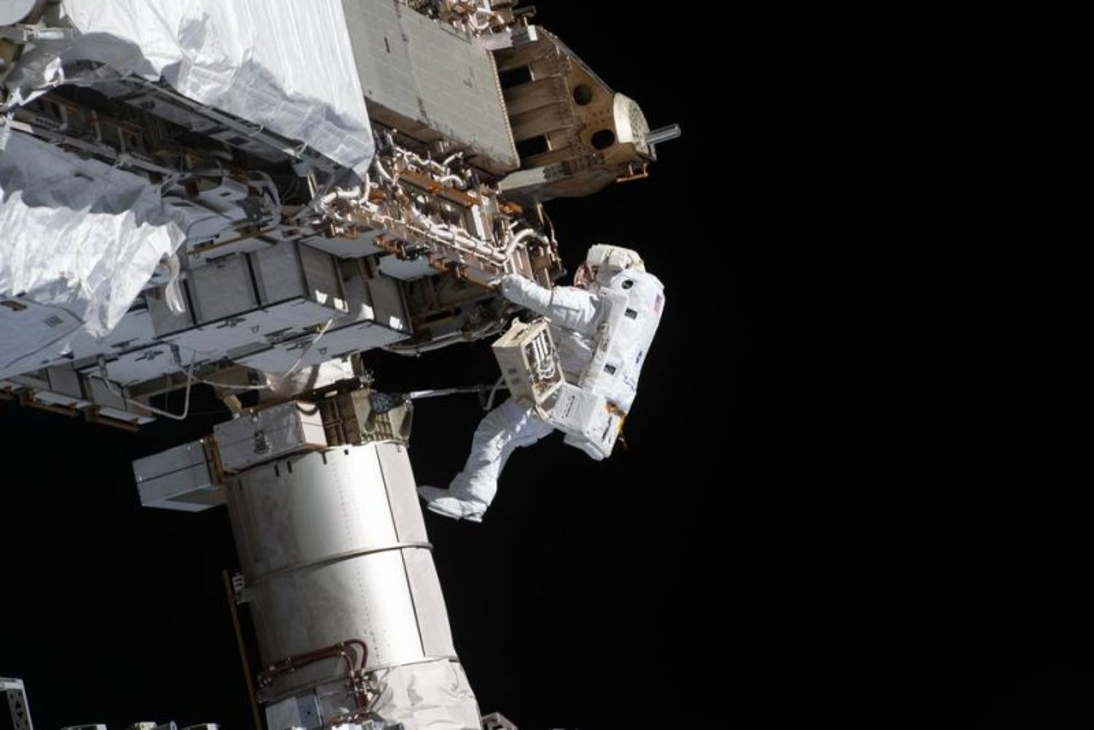 NASA spacewalk Sunday will prepare for new solar power