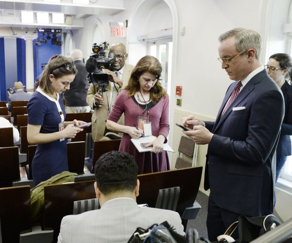 Spicer after media shut-out: 'We are going to aggressively push back'