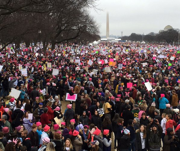 Global Women's March protests follow Trump inauguration