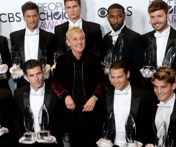 2017 People's Choice Award winners -- Ellen DeGeneres, Blake Shelton, Justin Timberlake score multiple prizes