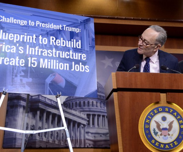 Senate Democrats to unveil $1 trillion infrastructure plan