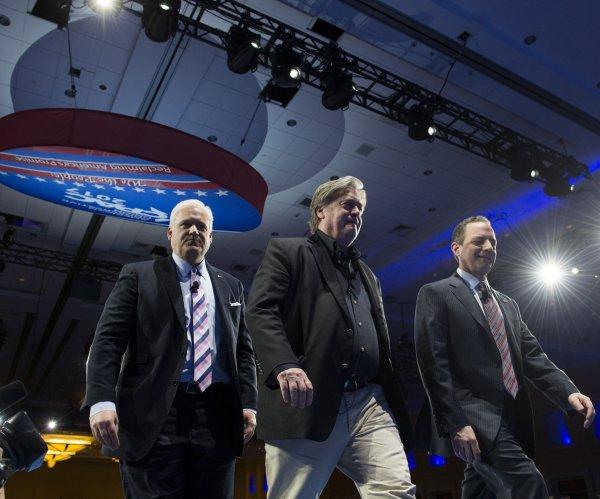 Bannon, Priebus, Conway, DeVos hail Trump agenda at CPAC