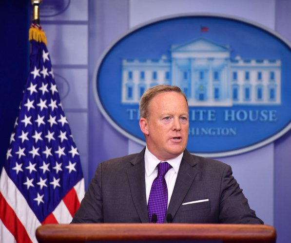 Press secretary Sean Spicer resigns in White House shake-up