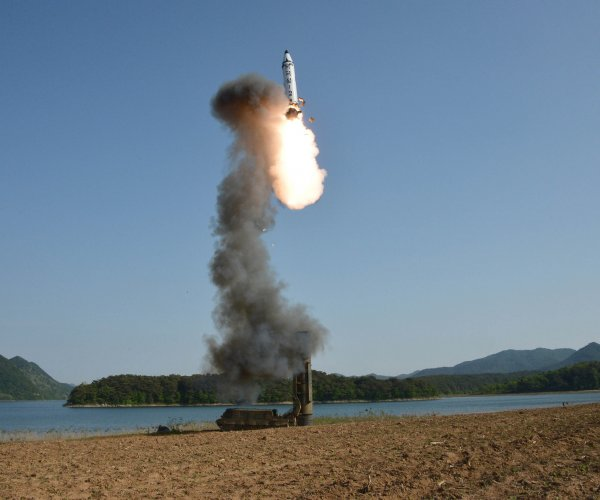 U.S. military confirms North Korean launch of new short-range ballistic missile