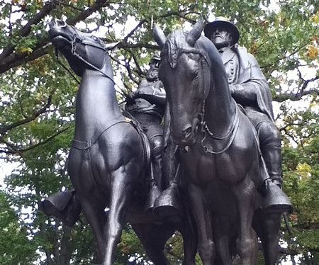 Charlottesville prompts vandalism, soul searching over Confederate statues