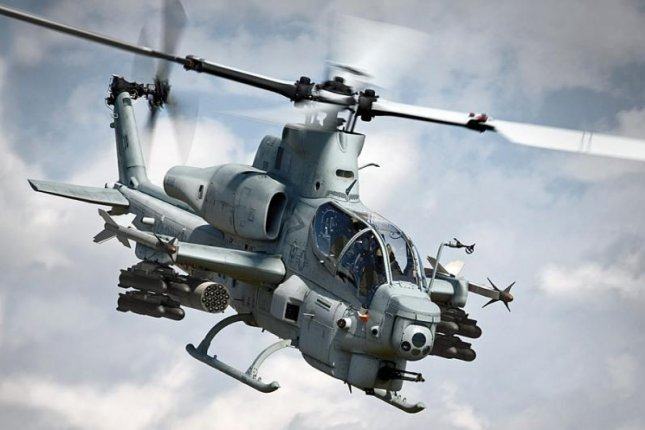 Pakistan is seeking AH-1Z attack helicopters and Hellfire missiles. Photo: U.S. Marine Corps