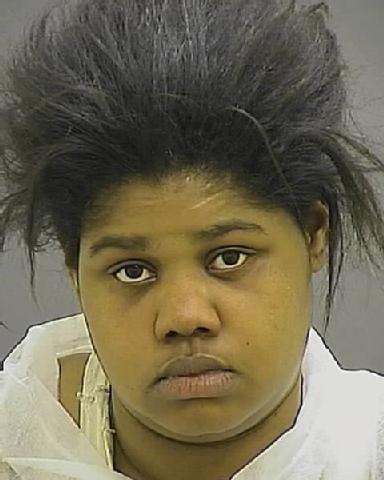 Lakesha Haynie, as seen in her mugshot.
