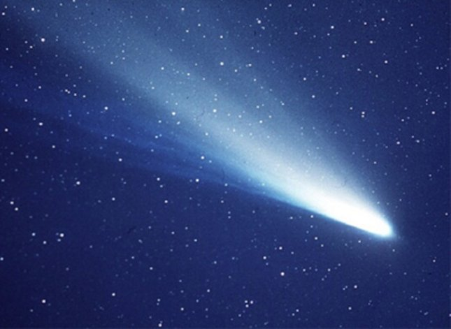 Comets may have seeded the Earth with the building blocks of life. Credit: NASA