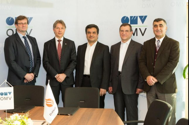 Austrian energy company OMV hosts Iranian delegates to sign arrangements for possible work in post-sanctions Iran. Photo courtesy of OMV