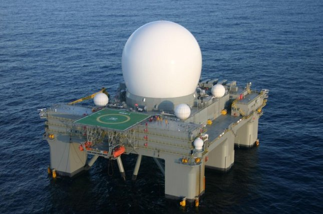 The Pentagon plans to update its sea-based X-band radar to deter North Korea as part of its plan to strengthen homeland defense. File Photo courtesy of U.S. Missile Defense Agency