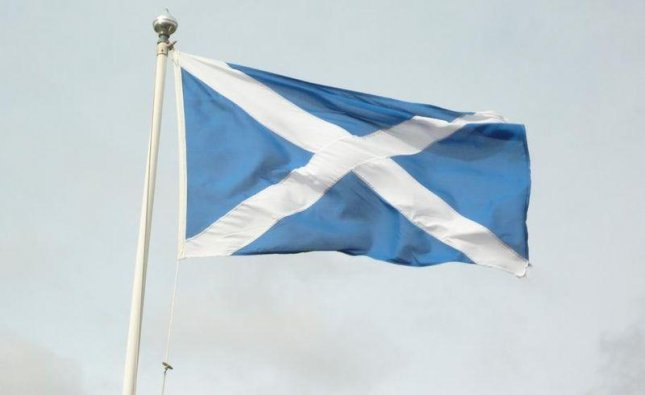 The flag of Scotland (CC/ wikimedia.org/ Flicktrickr)