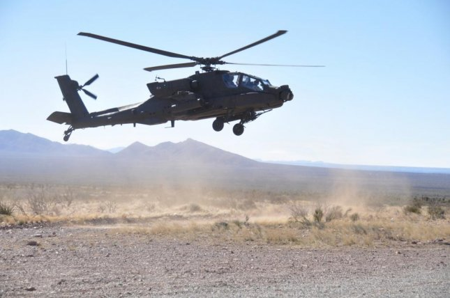 The U.S. Department of Defense announced Wednesday it awarded Boeing a $3.2 billion contract modification to support the U.S. Army's sale of Apache helicopters to Saudi Arabia. U.S. Army photo by Winifred Brown/Fort Bliss Public Affairs Office
