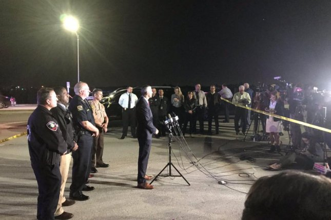 Law enforcement officials, including the FBI, gave a news conference Thursday evening providing updates on the chase and shooting. Photo courtesy of Miramar Police Department