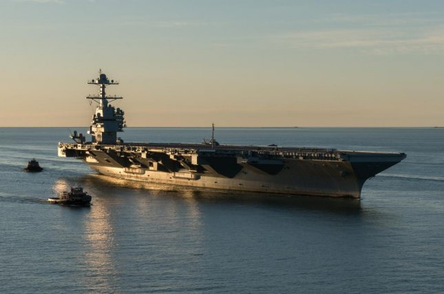 The future USS Gerald R. Ford is the first in its class and first new aircraft carrier to join the U.S. Navy's fleet since the USS George H.W. Bush was delivered in 2009. U.S. Navy photo
