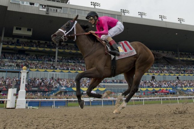 Wonder Gadot scores an easy win in Saturday's Queen's Plate, Canada's signature race. Photo courtesy of Woodbine