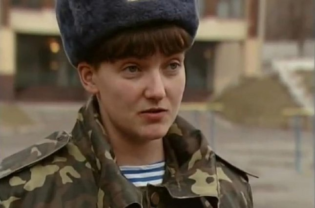 Ukrainian military pilot Nadiya Savchenko, convicted by a Russian court of murder and illegal border crossing, was freed Wednesday in a prisoner swap with Ukraine for two Russian intelligence officers convicted of terrorist activities. Photo courtesy of Podrobysti/Wikipedia