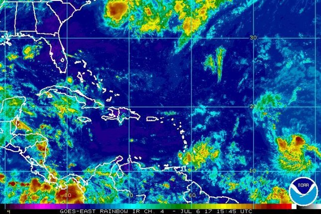 Tropical wave in the Atlantic could become storm or depression by Wednesday