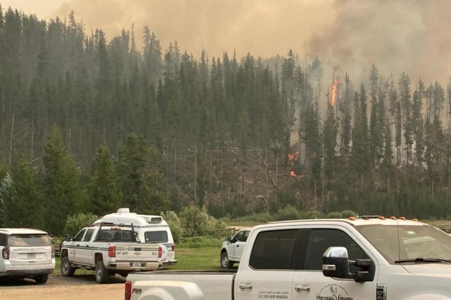 Pacific Gas & Electric Co. told a California watchdog its utility equipment may have been responsible for the 30,000-acre Dixie Fire. Photo courtesy InciWeb
