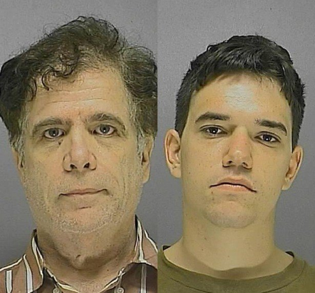 Dennis B Devlin And Michael C Ehmen S Mugshots Respectively Daytona Beach