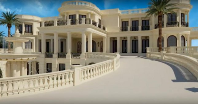 Le Palais Royal, an extravagant mansion in Hillsboro Beach, Florida, has raised its asking price to an astronomical $159 million. The mansion, owned by Robert Pereira, was inspired by the Palace of Versailles in France and first came on to the market on Sept. 14 for an equally staggering price tag of $139 million. Photo By William P.D. Pierce/YouTube