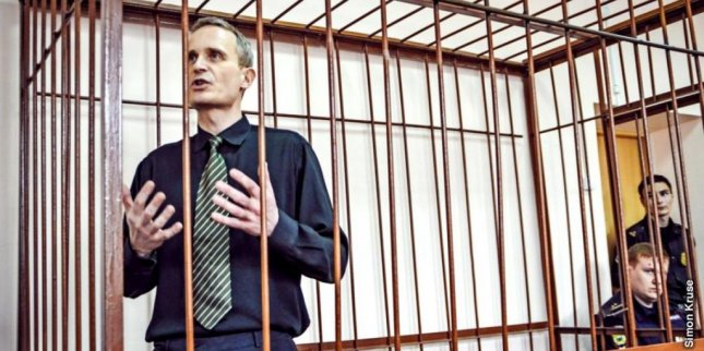 Dane Dennis Christensen was sentenced to six years in jail by a Russian court in May 2017 for continuing the activities of an extremist group for practicing his Jehova's Witnesses religion. Photo courtesy of United States Commission on International Religious Freedom/Website