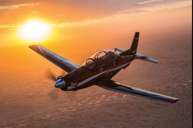 The U.S. State Department has approved a possible $300 million foreign military sale to Argentina for T-6C Texan aircraft, the department announced Wednesday. Photo courtesy Beechcraft Defense