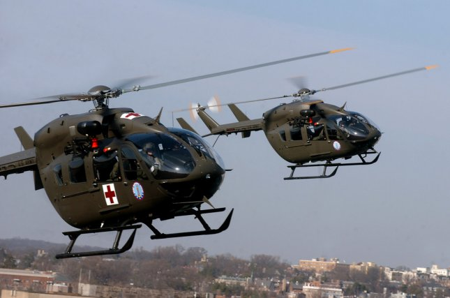 The D.C. National Guard's eight UH-72As – as well as eight additional Lakotas assigned to the Military District of Washington – are being based across the Potomac River at Davison Army Airfield in Fort Belvoir, Virginia.