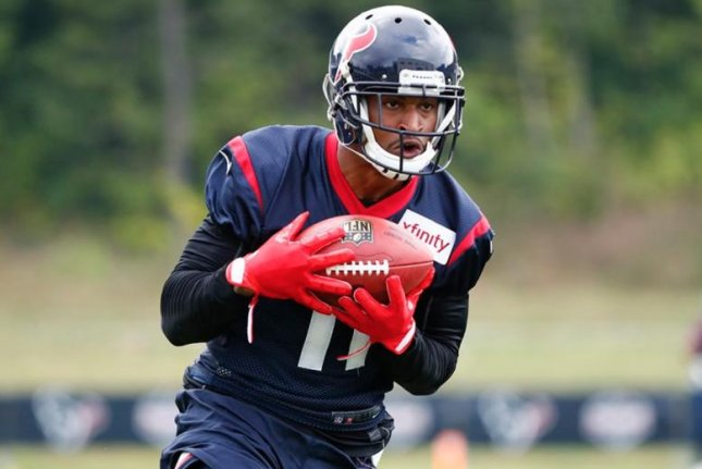 Former Houston Texans wide receiver Jaelen Strong was waived by the team on Monday. Photo courtesy of the Houston Texans/Twitter