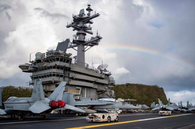 The USS Theodore Roosevelt may extend its isolation period for sailors on the vessel due to the novel coronavirus outbreak. Photo courtesy of U.S. Navy