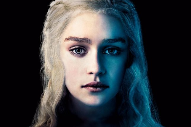 Emilia Clarke as Daenerys in 'Game of Thrones.' (HBO)