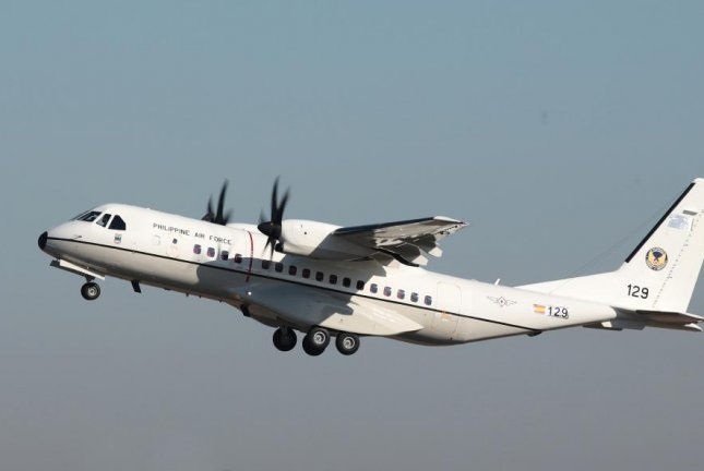 The Airbus delivers third C295 to the Philippines. Photo courtesy of Airbus