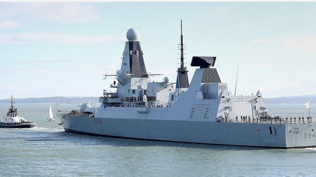 Raython UK announced a $200 million contract on Wednesday to provide the Royal Navy with training, technology and learning solutions as part of its modernization, which includes the Type 45 destroyer. Photo courtesy of Royal Navy