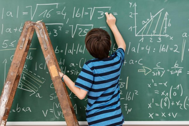 New research suggests math skills are passed down from generation to generation. If a child excels at math, it's likely their parents do too. Photo by racorn/Shutterstock