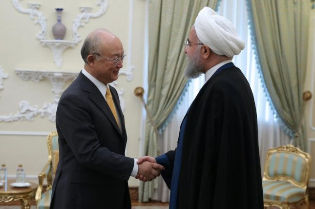 Iaea Head Says Iran Is In Compliance With Nuclear Agreement Upi
