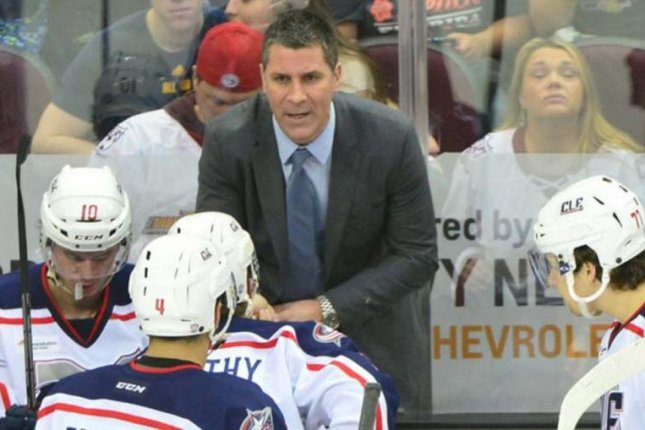 Jared Bednar. (Cleveland Monsters/Twitter)