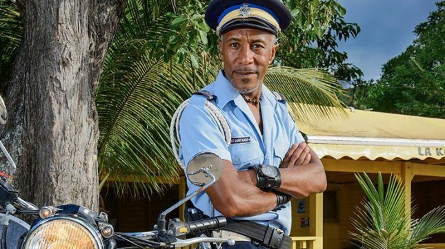 Danny John-Jules is returning for the Death in Paradise Christmas special. Photo courtesy of the BBC