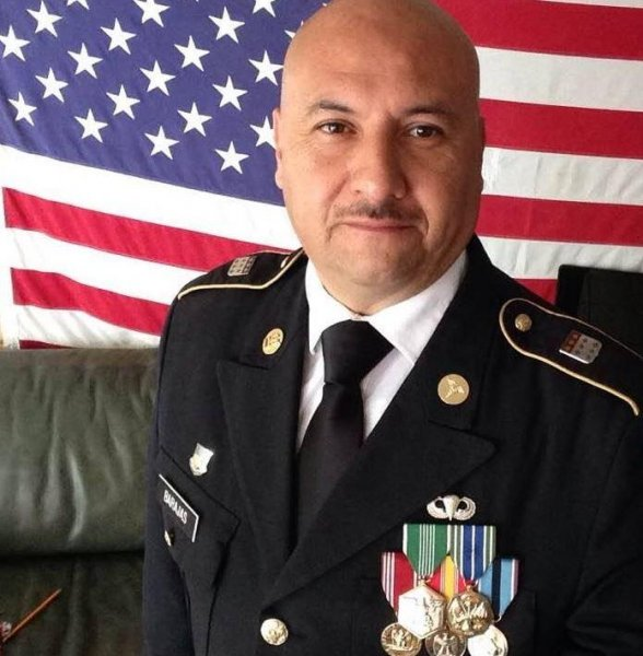 Hector Barajas served six years in the U.S. Army before getting deported in 2004. On Friday, he was granted American citizenship. Photo via Hector Barajas/Facebook