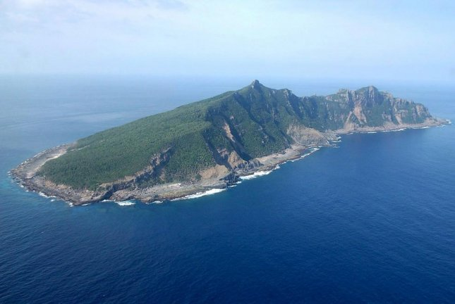 Uotsuri Island, one of the Senkaku or Diaoyutai Islands in the East China, is claimed by both China and Japan. File Photo by Hiroya Shimoji/EPA