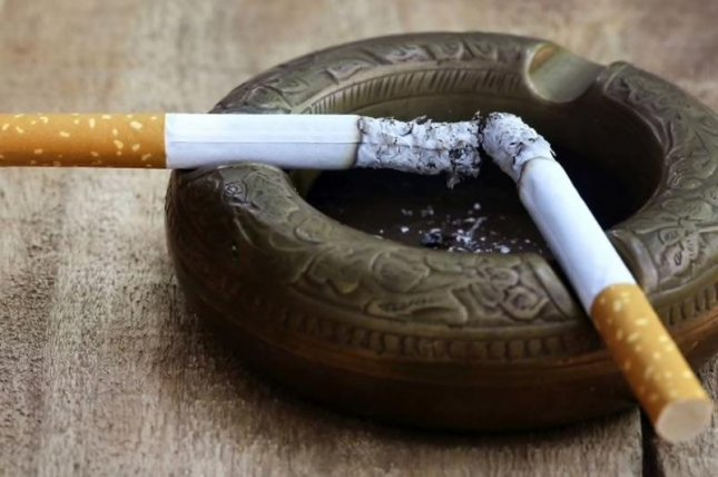 For every pack of cigarettes parents smoked per day, their children's risk of eventually developing atrial fibrillationrose by 18 percent, investigators found.Photo courtesy of HealthDay News