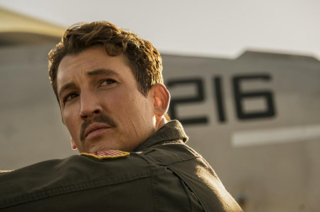 Miles Teller as his character Rooster in Top Gun: Maverick. Photo courtesy of Paramount Pictures