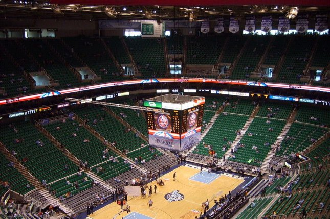 Interior view of the home of the Utah Jazz. Photo by Colin Hooten/Wikipedia