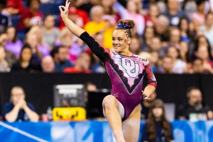 Oklahoma'sMaggie Nichols became the third Sooners female student-athlete to win theHonda Sport Award. Photo courtesy of Oklahoma Athletics