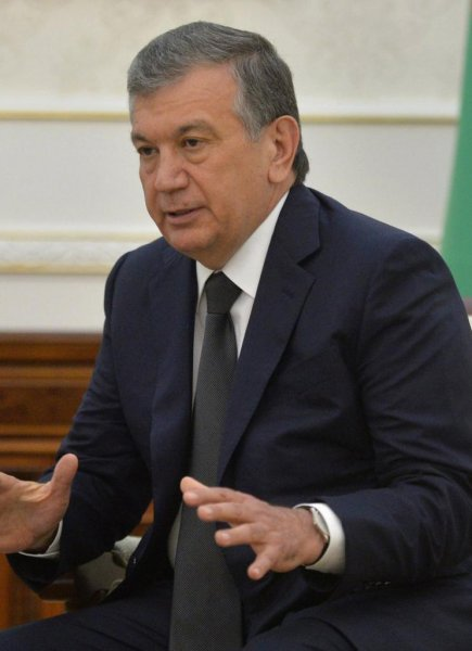 Shavkat Mirziyoev, former Prime Minister of Uzbekistan, was appointed acting president of the country Thursday. Photo courtesy of the Kremlin