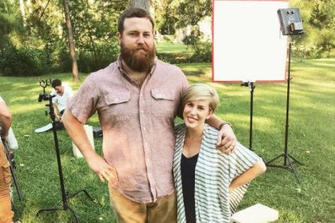 HGTV couple Ben and Erin Napier expecting first child