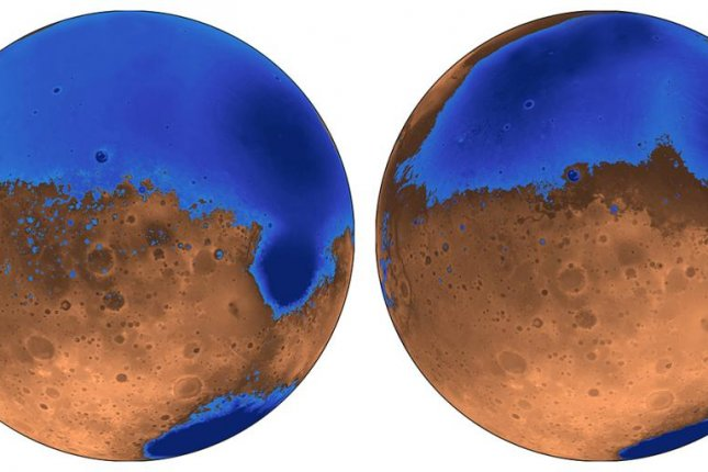 Mars' two oceans formed 4 million and 3.6 million years ago, new research suggests. Photo by Robert Citron/UC Berkeley