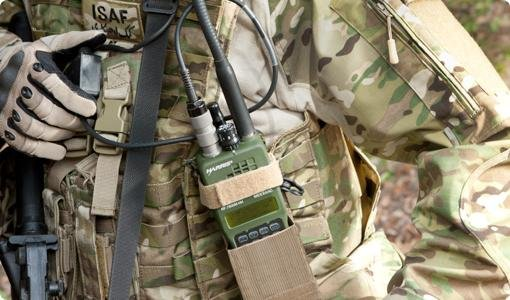 Harris Corporation Falcon III radios are used by military forces around the world. Photo by Harris Corporation.