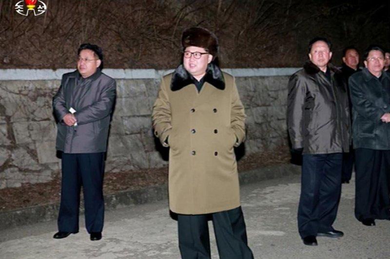 North Korean leader Kim Jong Un has stepped up provocative rhetoric, according to state media. Photo screenshot of KCTV