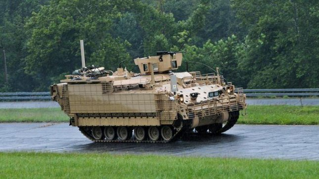 BAE Systems delivered its first Armored Multi-Purpose Vehicle to the U.S. Army on Tuesday. Photo courtesy of BAE Systems